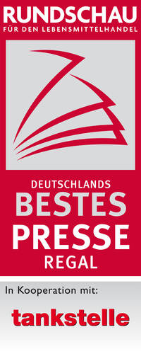 Deutschlands bestes Presseregal